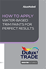 Water Based Application Guide