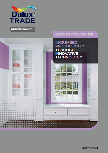 Dulux Trade Quick Dry Trim Range
