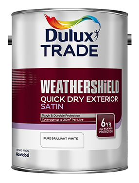 Weathershield Quick Dry Exterior Satin