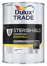 Dulux Trade Sterishield Diamond Eggshell