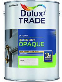 Dulux Trade Weathershield Quick Dry Opaque
